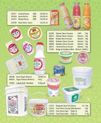 Juice & Dairy