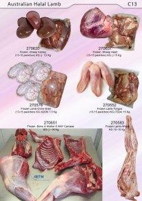 Halal Frozen Lamb Meat