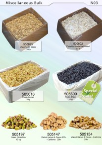 Raisins, Pistachio & Walnut
