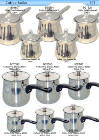 Coffee Boiler Stainless