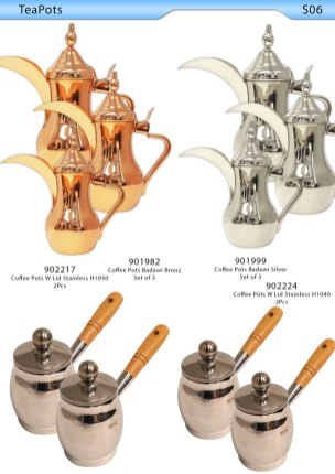 Tea Pot &Coffee Pot