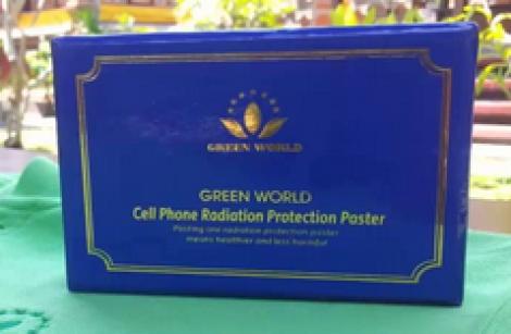 Green World Mobile Phone Anti-radiation Protection sticker