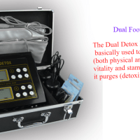Dual Ionic Foot Detox Machine
