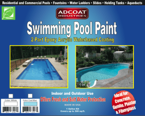 AdCoat Swimming Pool Paint Review