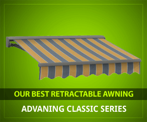 🥇 Top 5 Best Retractable Awnings (2019) - GreenYardMaster