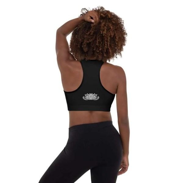 sujetador om shanti deportivo negro espalda