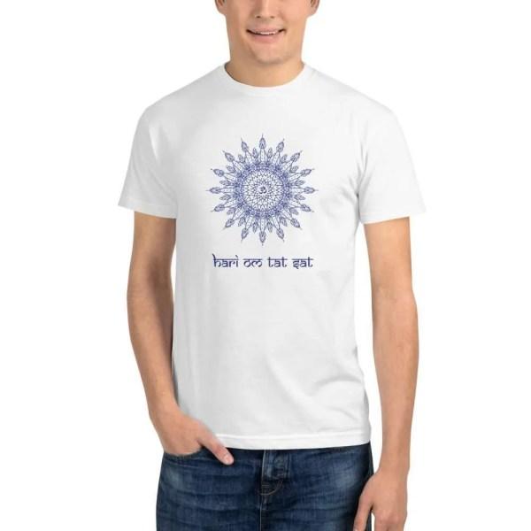 camiseta Hari Om Tat Sat ecológica