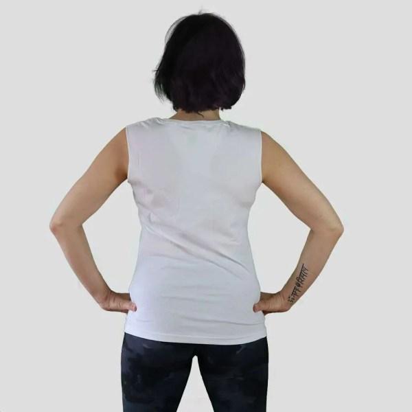 camiseta surfera blanca organica nasti de plastic