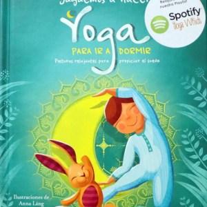 libro juguemos a hacer yoga para ir a dormir