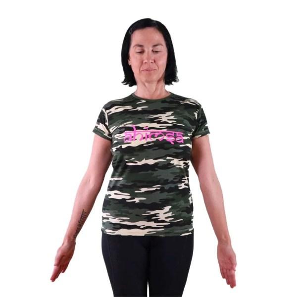camiseta vegana ahimsa