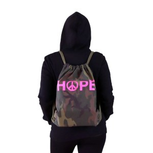 mochila camuflaje vegana Hope