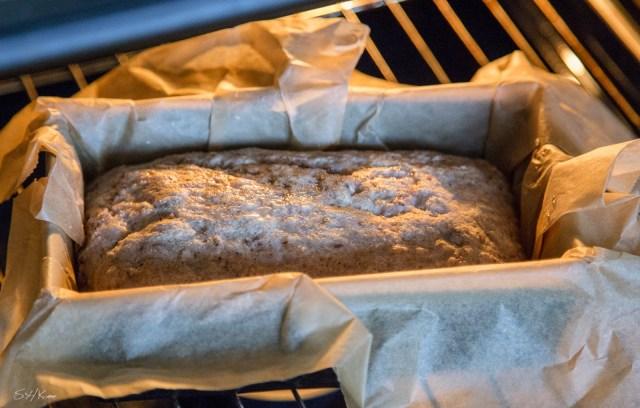 schnelles vegan Brot backen