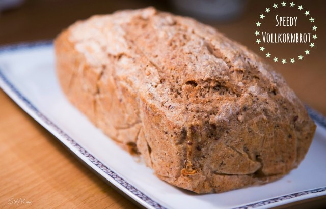 schnelles gesundes veganes Brot backen