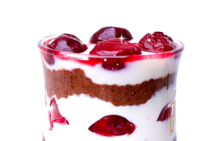 """Chia-Pudding """"Schneewittchen"""" von www.lasharonesse.wordpress.com"""