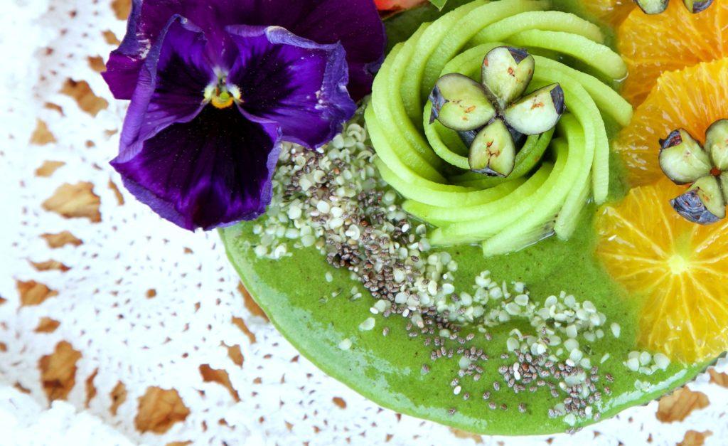 Weizengras-Spinat Nicecream von (vegan&glutenfrei) www.greenysherry.com