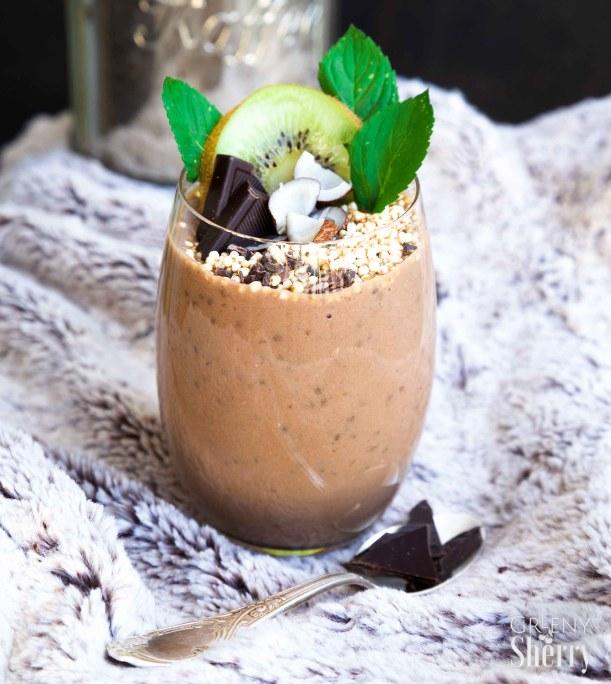 protein chocolate coffee parfait vegan_glutenfree_www.greenysherry.com