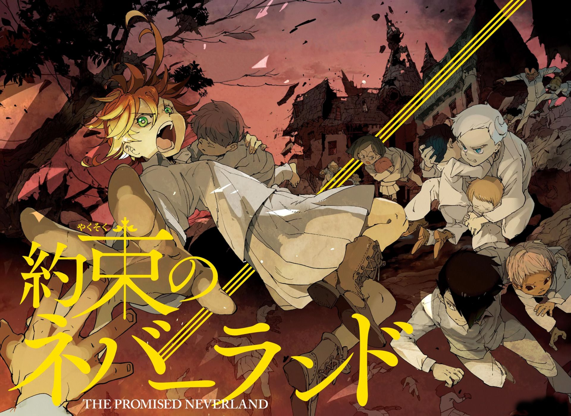 the promised neverland wallpapers free