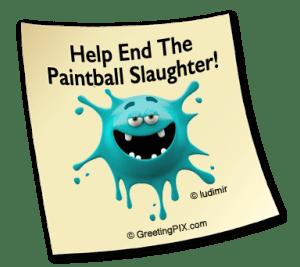 Stix. Paintball slaughter