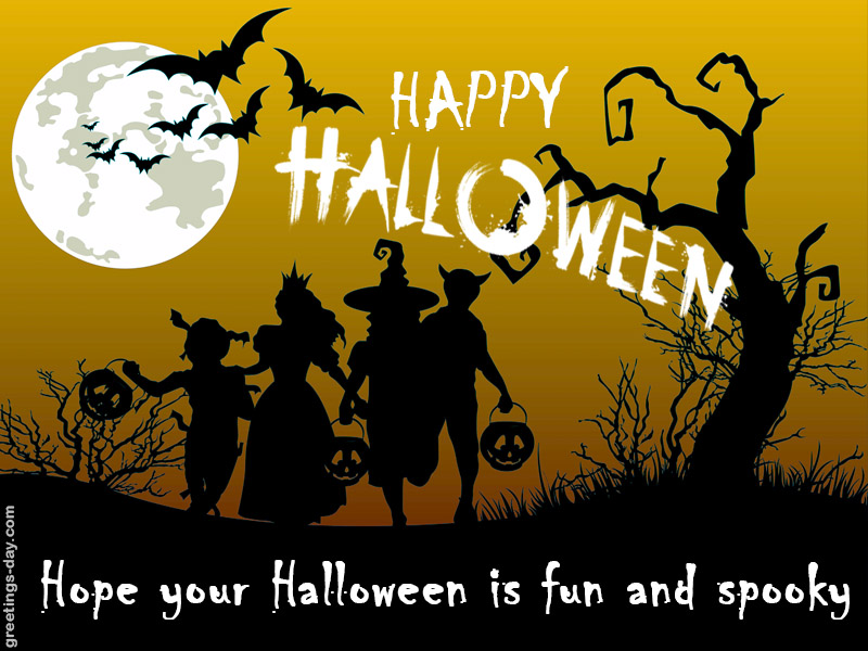 Happy Halloween Online Greeting Cards