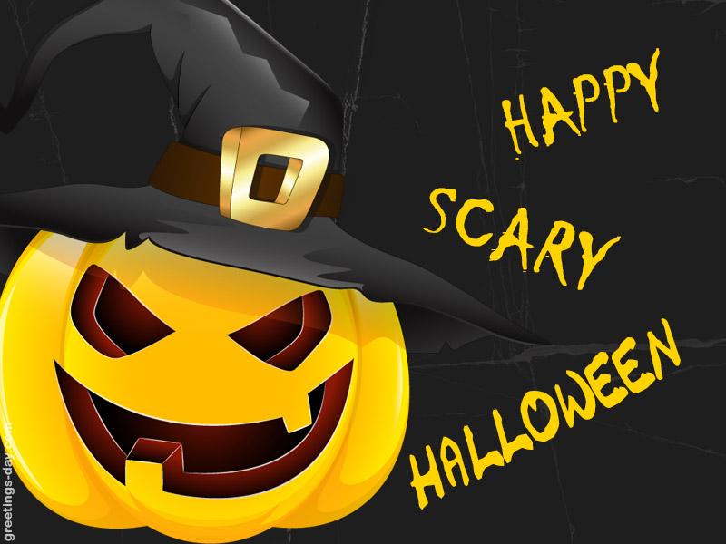 Happy Scary Halloween Free E Cards Amp Status Pics