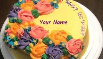 Terrific Name On Chocolate Birthday Cake Greeting Card Dumbos Diary Funny Birthday Cards Online Hetedamsfinfo