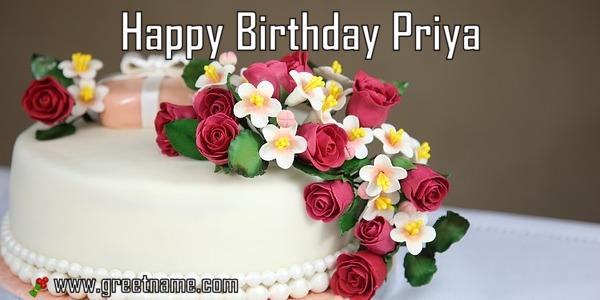 Happy Birthday Cake Vivek