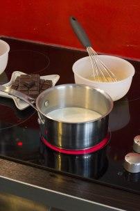 Préparation Ganache chocolat