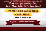 the price of your success