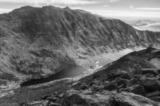 Mount Evans & Abyss Lake from Mt Bierstadt Summit