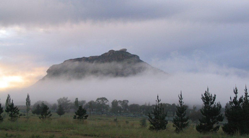 Tsoeneng mountain