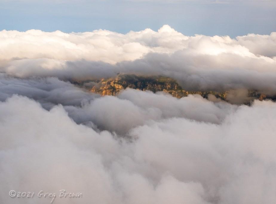 """Sedona Awakes,"" Greg's latest ""View from the Flying Carpet"" Fine Art Aerial Photo Metal Print!"