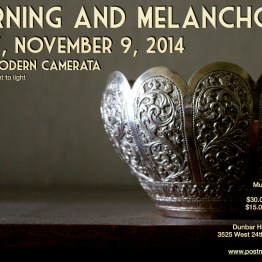 November 9 Poster 2