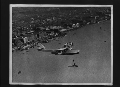 007 - Maiden flight of the Douglas Dolphin Over Shanghai Oct 1934
