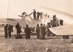 Loading a DC-2, probably at Chengdu, 1936