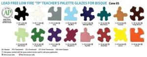 Teacher's Palette� (TP) Glaze