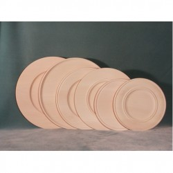 Basswood Plates, Chip Carving