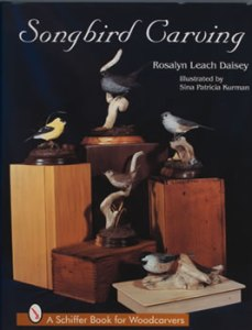 Songbird Carving 1, Daisey