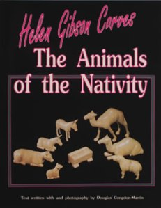 Helen Gibson Carves the Animals of the Nativity