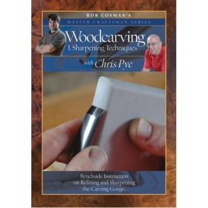 DVD - Chris Pye Woodcarving #1 - Sharpening Techniques