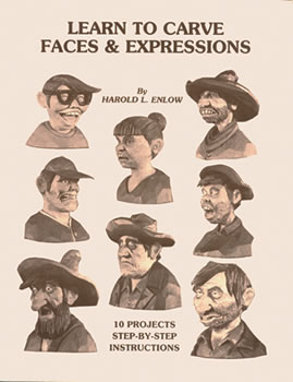 Learn To Carve Faces & Expressions