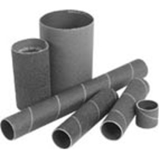 "Sanding Drum Sleeves 3/4"" Dia. x 2"" Length 50 Grit CoarsePackage of 12"