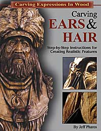 Carving Ears & Hair OUT OF PRINT