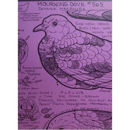 Mourning Dove, Decoy, Life