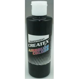 Createx Airbrush Transparent Black 4 0z.