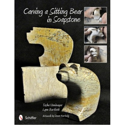 Carving a Sitting Bear in Soapstone