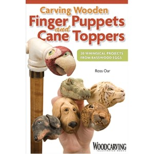 Carving Wooden Finger Puppets and Cane Toppers