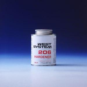 206-A Slow Hardener .44 PT.