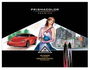MARKER SET-PRISMA PRO 72/SET