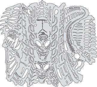 Artool BioMech FX� Templates Set of 6