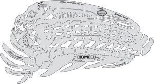 Artool BioMech FX� Templates Skull Buster Set of 6